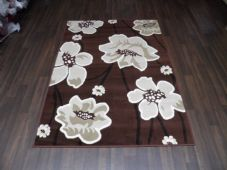 Modern Aprox 6x4ft 115x165cm Woven Backed  Rugs Sale Top Quality Brown/Beige New